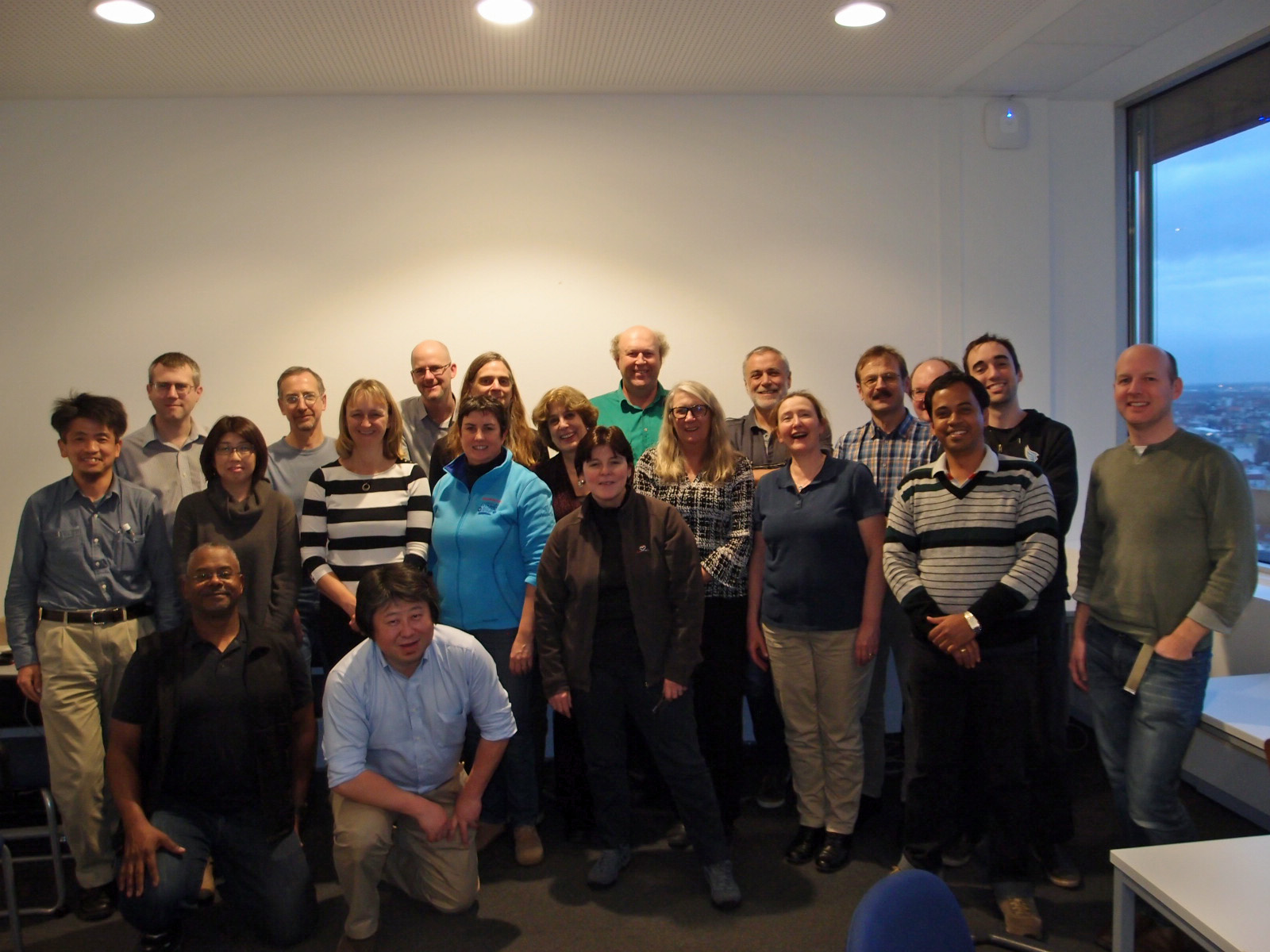 the IQuOD team in Hamburg, November 2015